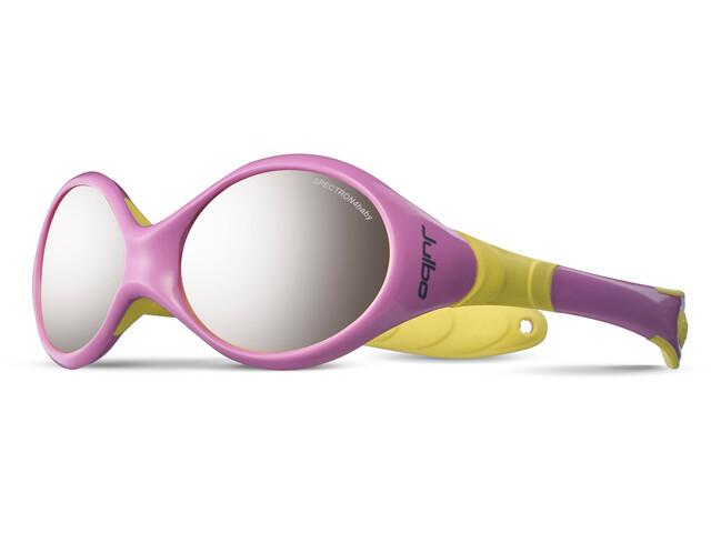 Julbo Looping II Spectron 4 Brille Børn 12-24M gul/pink | Glasses